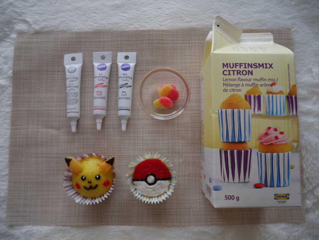 Pikachu Cupcakes Recipe